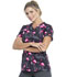 Photograph of Dickies Dickies Prints V-Neck Top in Let's Flamingle