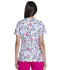 Photograph of Dickies Prints Women V-Neck Top Squares And Spots DK616-SQUR