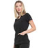 Photograph of Dickies EDS Essentials Mock Wrap Top in Black