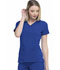 Photograph of Dickies Every Day EDS Essentials Mock Wrap Top in Galaxy Blue
