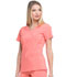 Photograph of EDS Essentials Women's Mock Wrap Top Red DK625-RACO