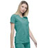 Photograph of Dickies Every Day EDS Essentials Mock Wrap Top in Teal Blue