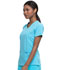 Photograph of Every Day EDS Essentials Women Mock Wrap Top Blue DK625-TRQ