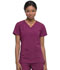 Photograph of Dickies EDS Essentials Mock Wrap Top in Wine