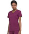 Photograph of Dickies Every Day EDS Essentials Mock Wrap Top in Wine