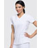 Photograph of EDS Essentials Women's Mock Wrap Top White DK625-WTPS
