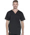 Photograph of Dickies Essence Men's V-Neck Top in Black