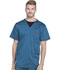 Photograph of Dickies Essence Men's V-Neck Top in Caribbean Blue