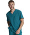 Photograph of Dickies Every Day EDS Essentials Men's V-Neck Top in Caribbean Blue