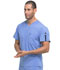 Photograph of EDS Essentials Men's Men's V-Neck Top Blue DK635-CIPS