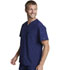 Photograph of EDS Essentials Men's Men's V-Neck Top Blue DK635-NYPS