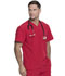 Photograph of Dickies Every Day EDS Essentials Men's Tuckable V-Neck Top in Red