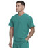 Photograph of Dickies Every Day EDS Essentials Men's V-Neck Top in Teal Blue