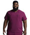 Photograph of Dickies EDS Essentials Men's V-Neck Top in Wine