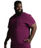Photograph of Dickies Every Day EDS Essentials Men's Tuckable V-Neck Top in Wine