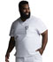 Photograph of EDS Essentials Men's Men's V-Neck Top White DK635-WTPS