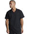 Photograph of Dickies Dynamix Men's V-Neck Top in Black