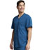 Photograph of Dickies Dynamix Men's V-Neck Top in Caribbean Blue