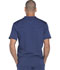 Photograph of Dickies Dynamix Men's Men's V-Neck Top Blue DK640-NAV