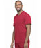Photograph of Dynamix Men's Men's V-Neck Top Red DK640-RED