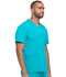 Photograph of Dickies Dynamix Men's Men's V-Neck Top Blue DK640-TLB