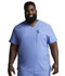 Photograph of EDS Essentials Men's Men's V-Neck Top Blue DK645-CIPS