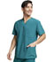 Photograph of EDS Essentials Men's Men's V-Neck Top Green DK645-HNPS