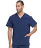 Photograph of EDS Essentials Men's Men's V-Neck Top Blue DK645-NYPS