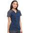 Photograph of Xtreme Stretch Women's Contrast V-Neck Top Blue DK655-NVYZ