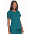 Photograph of Dickies Dynamix Women's Mock Wrap Top Blue DK660-CAR