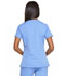 Photograph of Dickies Dynamix Women Mock Wrap Top Blue DK660-CIE