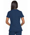 Photograph of Dynamix Women's Mock Wrap Top Blue DK660-NAV