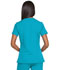 Photograph of Dickies Dynamix Mock Wrap Top in Teal Blue