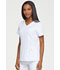 Photograph of Dickies Dynamix Mock Wrap Top in White