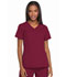 Photograph of Dickies Dickies Dynamix Mock Wrap Top in Wine