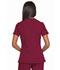 Photograph of Dickies Dynamix Mock Wrap Top in Wine