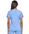 Photograph of Dickies Dynamix Women's Shaped V-Neck Top Blue DK665-CIE