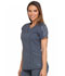 Photograph of Dickies Dynamix Women's Shaped V-Neck Top Gray DK665-PWT
