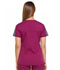 Photograph of Dickies Dynamix Women Shaped V-Neck Top Red DK665-WIN