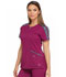 Photograph of Dickies Dynamix Women's Shaped V-Neck Top Red DK665-WIN