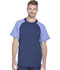 Photograph of Dickies Dynamix Men's Men's Crew Neck Top Blue DK670-NAV