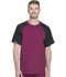 Photograph of Dickies Dynamix Men's Crew Neck Top in Wine
