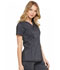 Photograph of Dickies Advance V-Neck Top in Onyx Twist