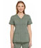 Photograph of Advance Women's V-Neck Top Green DK690-OLVT