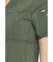 Photograph of Dickies Advance V-Neck Top in Olive Twist