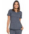 Photograph of Advance Women's V-Neck Top Pewter Twist DK690-PWTT
