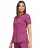 Photograph of Dickies Advance V-Neck Top in Sangria Twist