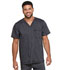 Photograph of Dickies Advance Men's V-Neck 3 Pocket Top in Onyx Twist