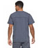 Photograph of Dickies Advance Men's V-Neck 3 Pocket Top in Pewter Twist