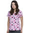 Photograph of Dickies Prints Women's V-Neck Top Actively Care DK700-AVCA